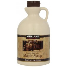 Kirkland Signature Canadian Maple Syrup - 1L - Grade A Dark Amber